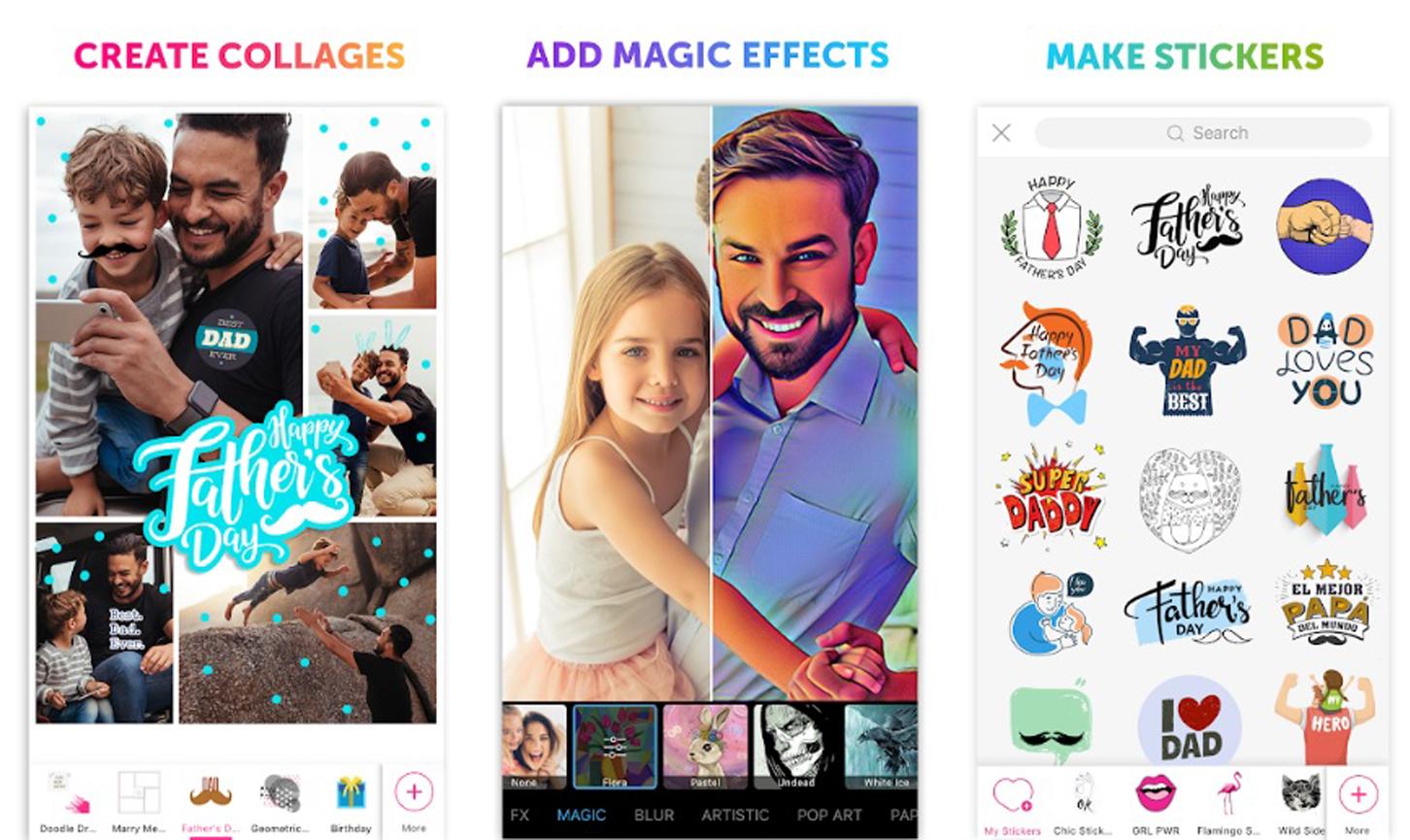 PicsArt, Apps